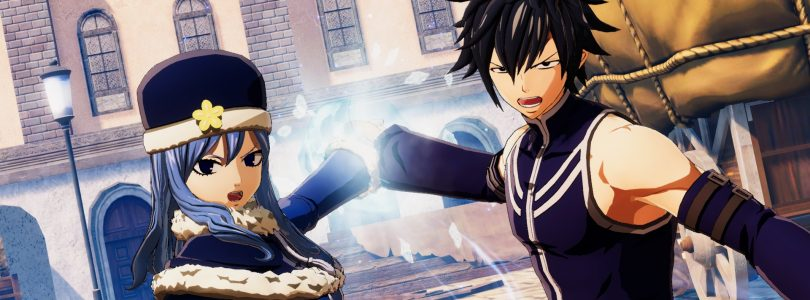 New Fairy Tail Trailer Highlights Early Game