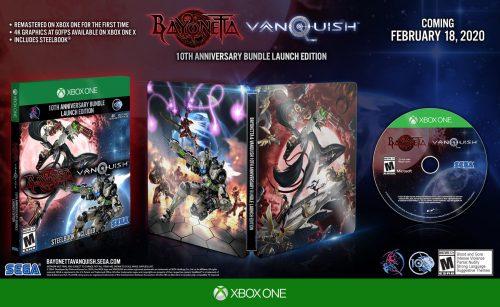 Bayonetta & Vanquish 10th Anniversary Bundle Officially Revealed