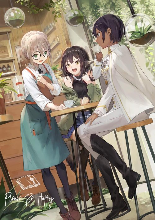 Please Be Happy, Slobbish Dragon Princess, and More Visual Novels Licensed by Sekai Project