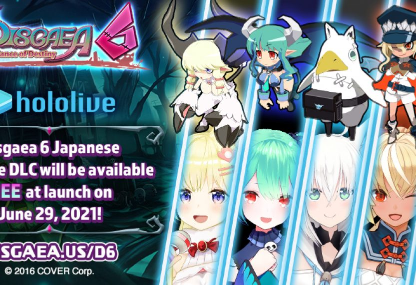 Disgaea 6 Hololive DLC to be Free in the West