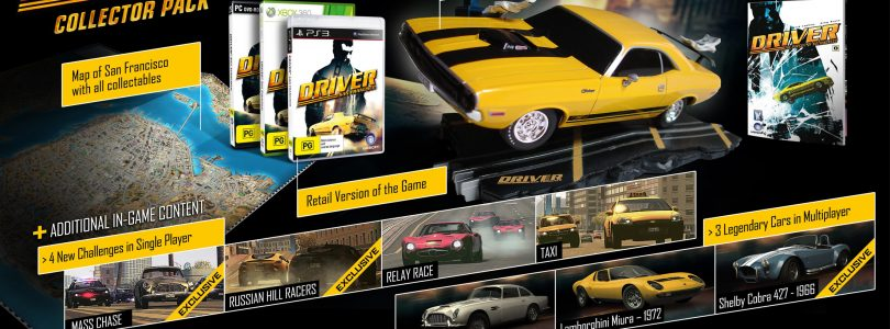 Driver San Francisco Collectors Edition Unboxing