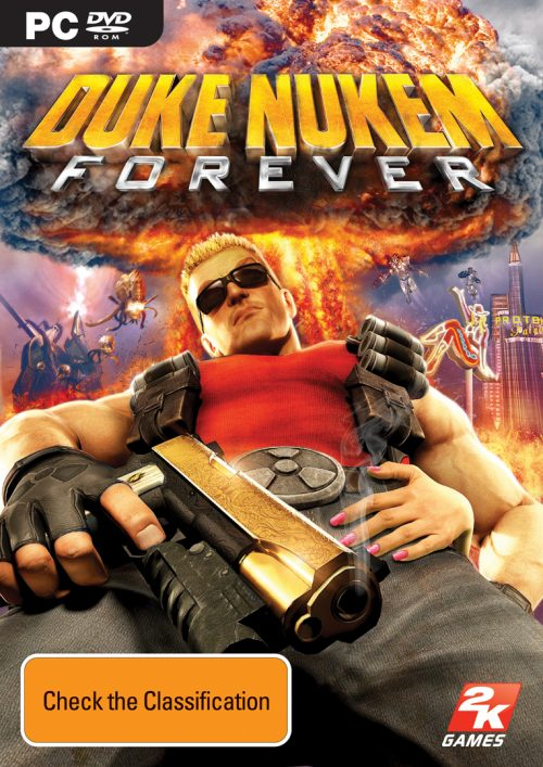 Hail to the King BABY !!! Duke Nukem Details and Boxart Revealed