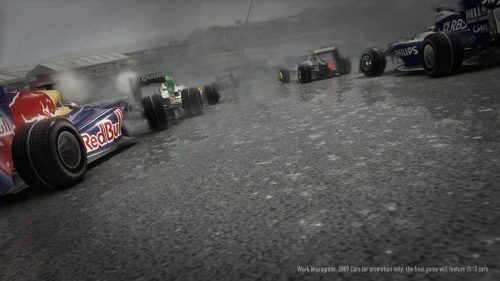 New F1 2010 Developer Diary Reveals Dynamic Weather System and Active Track Technology