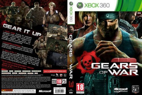 Gears Of War 3 Cover… Real or Fake ?