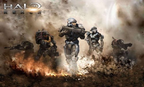HALO REACH Community Night with Capsule Computers