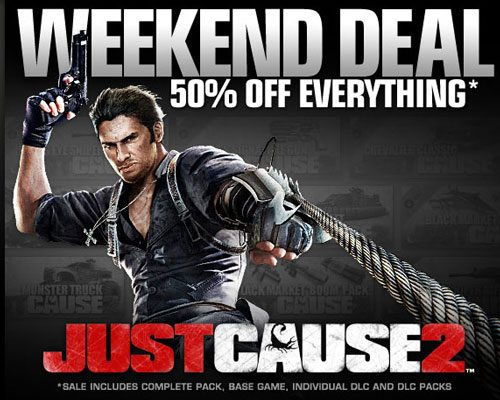 Steam's Weekend Deal: Just Cause 2