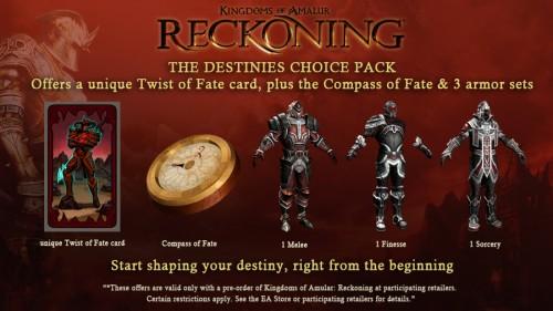 Kingdoms of Amalur: Reckoning – Preorder and get stuff!