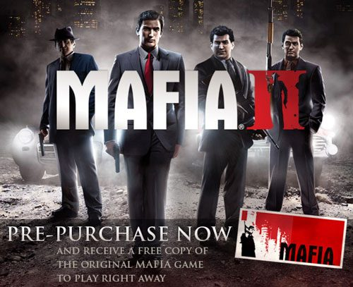 Mafia II: Pre-Order and Full Integration with Steam!