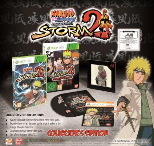 Naruto Ultimate Ninja Storm 2 Collector's edition and date