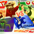 Pirates vs Ninjas vs Zombies vs Pandas?