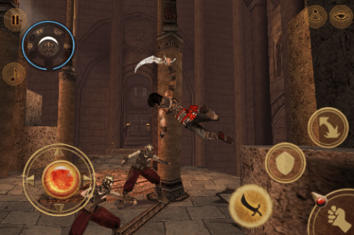 Prince Of Persia – iPhone & iPAD Exclusive Screenshots