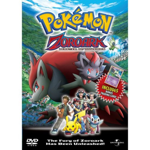 Pokémon Zoroark & The Master Of Illusions DVD given UK release date