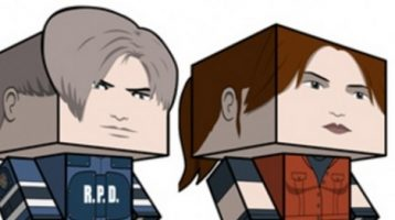 Create Your Own Leon and Claire Cubees