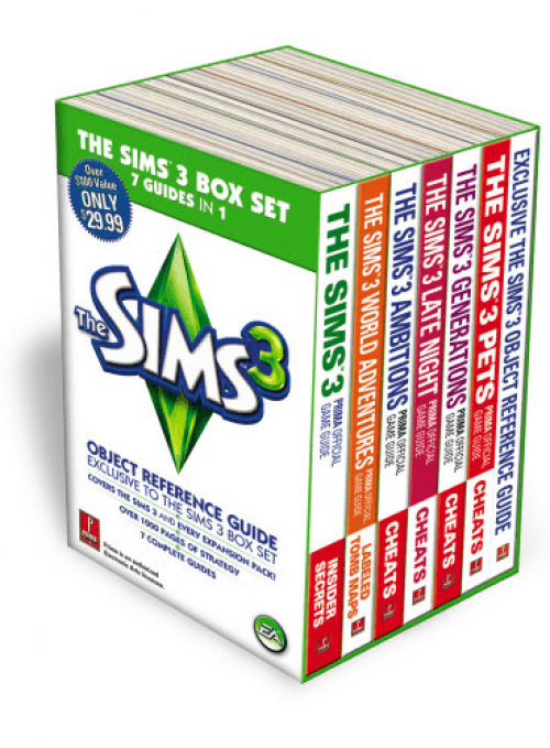 Sims 3 Strategy Box Set On the Way!