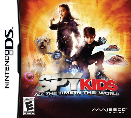 Majesco Announces Spy Kids: All the Time in the World for the Nintendo DS..