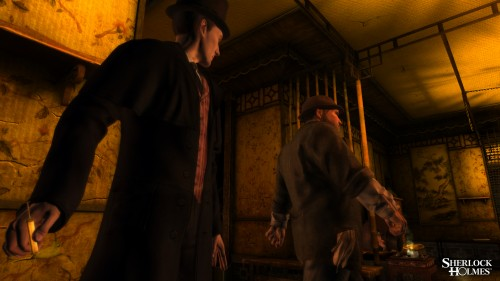 New images uncovered for The Testament of Sherlock Holmes