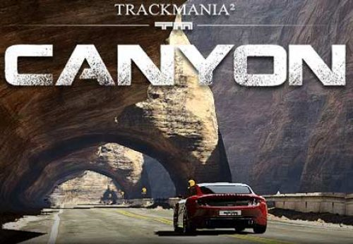 Trackmania 2 Canyon beta open now!
