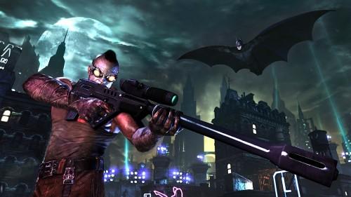 Batman: Arkham City trailer shows off Batman's new moves