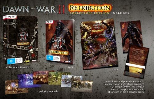 Dawn of War II: Retribution Collector's Edition revealed for Australia