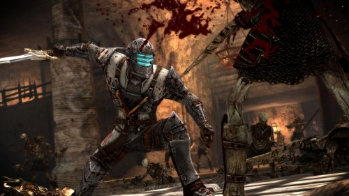 Dead Space 2 to include code for Dragon Age 2 armor
