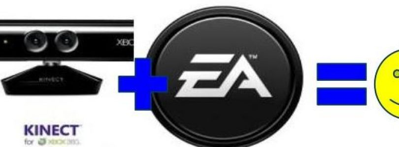 EA supports Kinect in a big way
