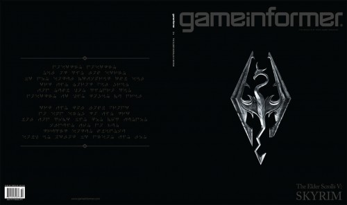 The Elder Scrolls V: Skyrim cover contains a secret message