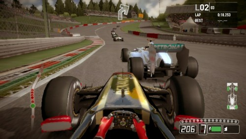 First-look at F1 2011 on PS Vita for TGS 2011