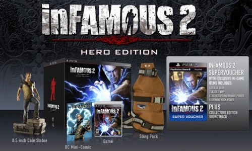 inFamous 2 given official release date and Hero Edition confirmed