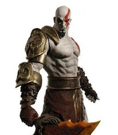 Kratos does Mortal Kombat- but only on the PS3