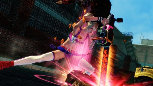 Juliet shows off her moves in Lollipop Chainsaw TGS trailer