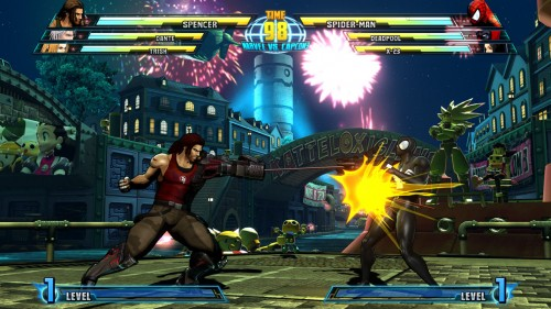 Sir Arthur and Bionic Commando join the roster in Marvel vs Capcom 3