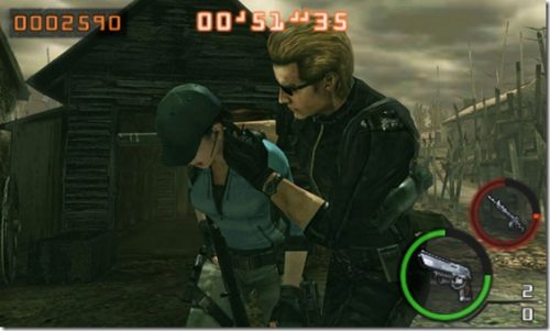 Jill and Wesker revealed for RE: The Mercenaries 3D