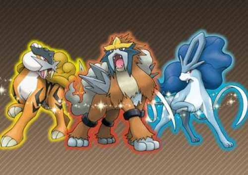 GameStop to Distribute the Shiny Legendary Beasts For Pokémon Starting Jan. 3rd!
