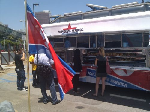 PyongYang Express returns to LA area to market THQ's Homefront