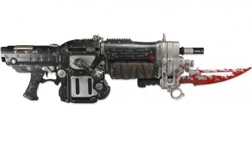 Gears of War 3 Lancer replic….. *drool*