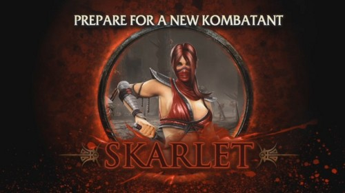 Mortal Kombat DLC: Skarlet Bio And Free Cyborg Skins June 21st, Rain Coming soon!