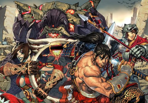 Soul Calibur V is under development for 2012 release