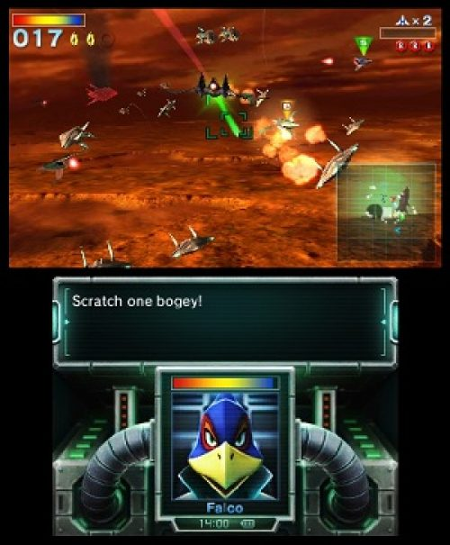 Star Fox 64 3D flies onto shelves in North America on September 9th
