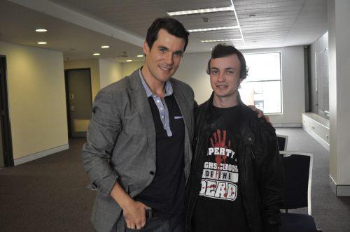 Sean Maher Interview at Supanova Sydney 2011