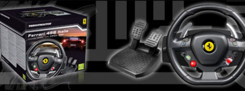 Ferrari F458 Wheel and TH8 RS Shifter announced