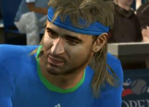 Mulleted Vintage Agassi & More Confirmed for Top Spin 4..