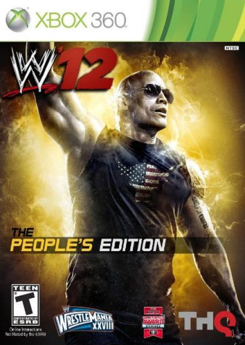 The Rock earns the cover spot for WWE '12's Collectors Edition!